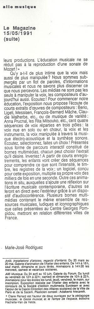 Allo Musique Claire Renard Centre Pompidou-2